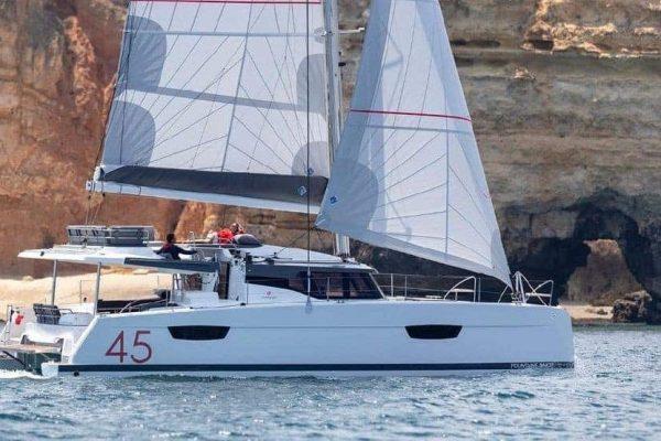 Fountaine-Pajot-Elba-Sailing